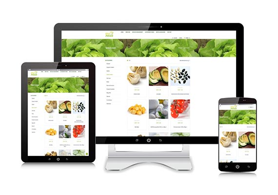 Responsive Webdesign CATERINGSERVICE.